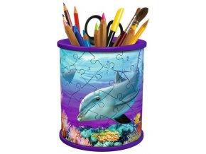Ravensburger 3D puzzle Stojan na tužky Podmořský svět 54 dílků