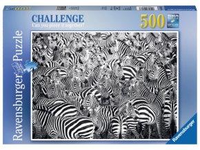 m puzzle challenge zebry 500 dilku 42284
