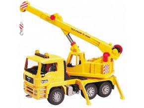 BRUDER 2754 Nákladní auto MAN - stavební jeřáb