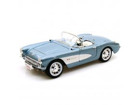 Chevrolet Corvette 1957 modrá 1:18, Yatming