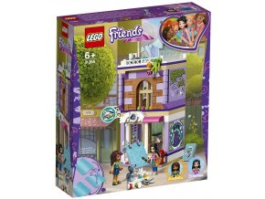 LEGO Friends 41364 Emma a umělecké studio