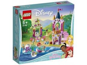 LEGO Disney Princezny 41162 Královská oslava Ariel, Šípkové Růženky a Tiany