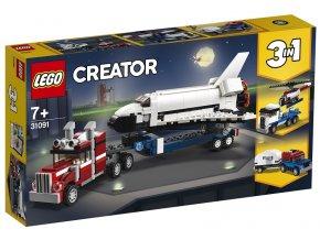 LEGO Creator 31091 Přeprava raketoplánu