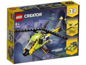 LEGO Creator 31092 Dobrodružství s helikoptérou