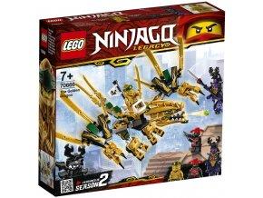LEGO Ninjago 70666 Zlatý drak
