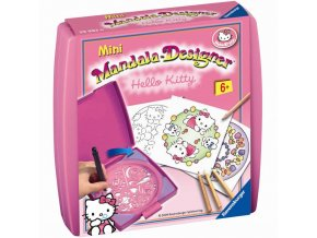 Kreslici sada Mini Mandala Hello Kitty Ravensburger 1