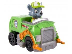 Spin Master Paw Patrol Malá vozidla s figurkou Rocky Záchranářské auto