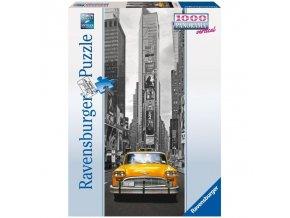 puzzle New York Taxi 1000d, vertical, Ravensburger