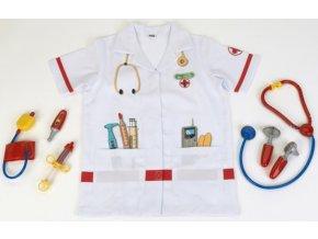 Doktorský oblek s doplňky