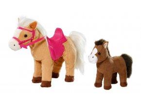 Zapf Creation Baby Born Interaktivní kůň s hříbátkem