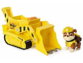 Spin Master Paw Patrol Základní vozidla s figurkou Rubble