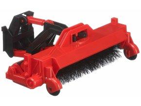 BRUDER 2583 Zametací stroj pro Unimog a traktor