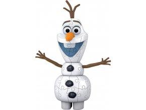 Ravensburger 3D puzzle Disney Ledové království 2 Olaf 54 ks