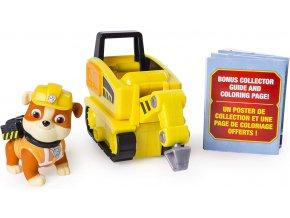 Spin Master Paw Patrol Vozidlo s figurkou Ultimate Rescue Rubble