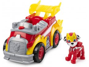 Spin Master Paw Patrol Super vozidla se světelným efektem Marshall