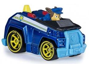 Spin Master Paw Patrol Kovová autíčka superhrdinů Chase