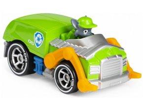 Spin Master Paw Patrol Kovová autíčka superhrdinů Rocky