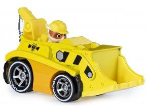Spin Master Paw Patrol Kovová autíčka superhrdinů Rubble