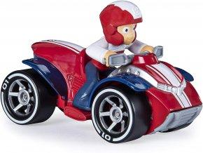 Spin Master Paw Patrol Kovová autíčka superhrdinů Ryder