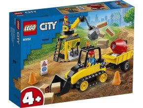 LEGO City 60252 Buldozer na staveništi