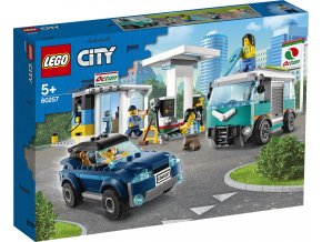 LEGO City 60257 Benzínová stanice