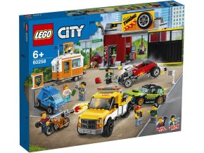 LEGO City 60258 Tuningová dílna