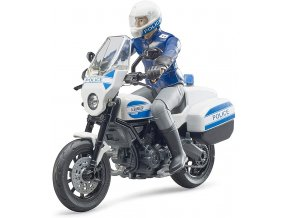 BRUDER 62731 Policejní motorka Ducati s policistou