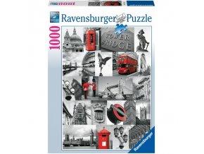 puzzle Londýn 1000d, Ravensburger
