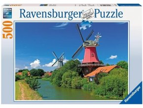 puzzle Větrný mlýn 500d, Ravensburger