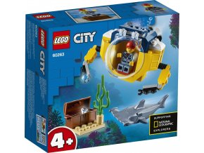LEGO City 60263 Oceánská mini ponorka