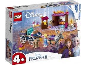 LEGO Disney Frozen II 41166 Elsa a dobrodružství s povozem