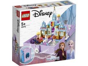 LEGO Disney Frozen II 43175 Anna a Elsa a jejich pohádková kniha dobrodružství