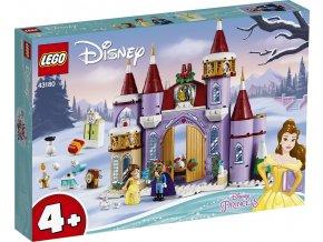 LEGO Disney Princezny 43180 Bella a zimní oslava na zámku