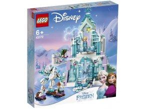 LEGO Disney Frozen 43172 Elsa a její kouzelný ledový palác