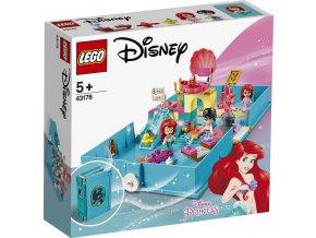 LEGO Disney Princezny 43176 Ariel a její pohádková kniha dobrodružství