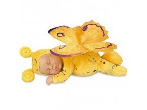 Anne Geddes panenka Motýl žlutý