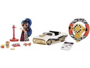 MGA L.O.L. Surprise! Závodní auto s J.K. panenkou