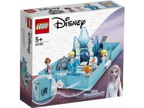 LEGO Disney Princezny 43189 Elsa a Nokk a jejich pohádková kniha dobrodružství