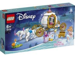 LEGO Disney Princezny 43192 Popelka a královský kočár