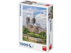 Dino Katedrála Notre-Dame Francie 1000 dílků