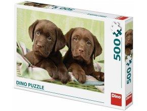 Dino Puzzle Labradoři 500 dílků