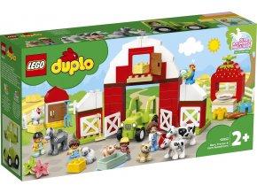 LEGO DUPLO 10952 Stodola, traktor a zvířátka z farmy
