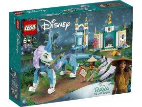 LEGO Disney Princezny 43184 Raya a drak Sisu