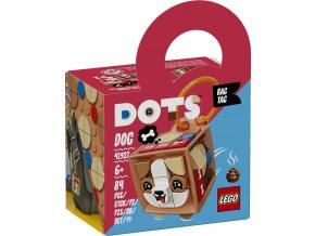 LEGO DOTS 41927 Ozdoba na tašku – pejsek