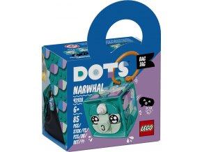 LEGO DOTS 41928 Ozdoba na tašku – narval