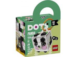 LEGO DOTS 41930 Ozdoba na tašku – panda
