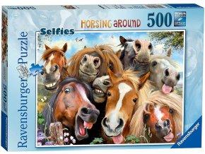 Ravensburger S koňmi 500 dílků