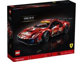 "LEGO Technic 42125 Ferrari 488 GTE ""AF Corse #51"""