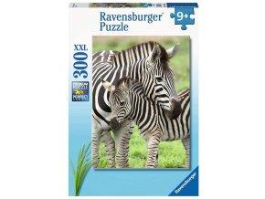 Ravensburger puzzle Oblíbené zebry XXL 300 dílků
