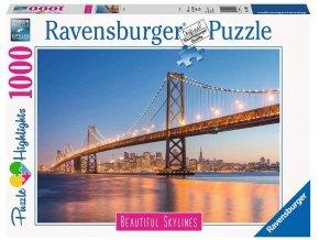 Ravensburger San Francisco 1000 dílků